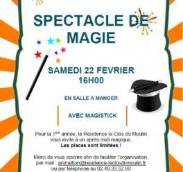 Spectacle de magie